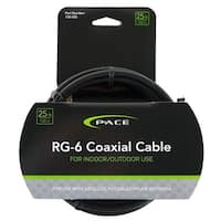 Pace International 135025 25 ft. Coaxial Cable