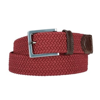 The British Belt Company Men's Elba Elastic Stretch Belt