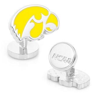 Palladium University of Iowa Hawkeyes Cufflinks - Yellow