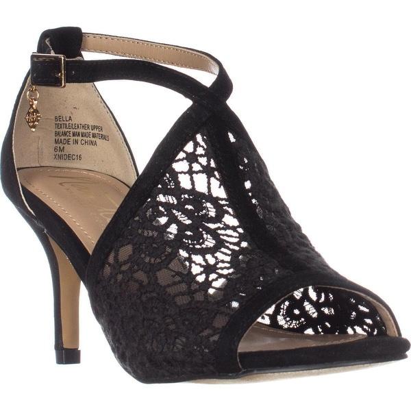 Nanette Nanette Lepore Bella Dress Sandals, Black