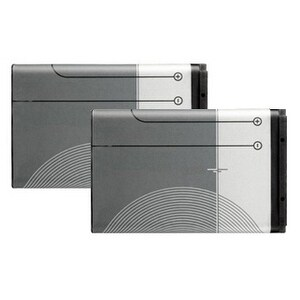 Replacement Battery for Nokia BL-6C (2 Pack)