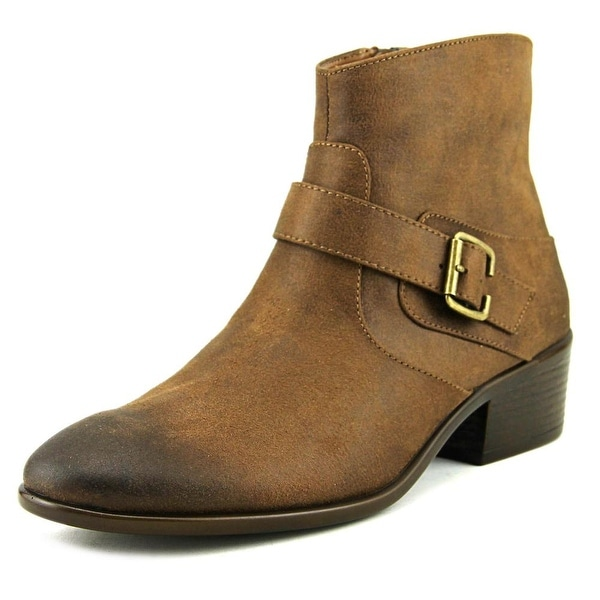 A2 By Aerosoles My Way Women Round Toe Synthetic Brown Bootie