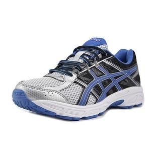 Asics Gel-Contend 4 GS Youth W Round Toe Synthetic Black Running Shoe