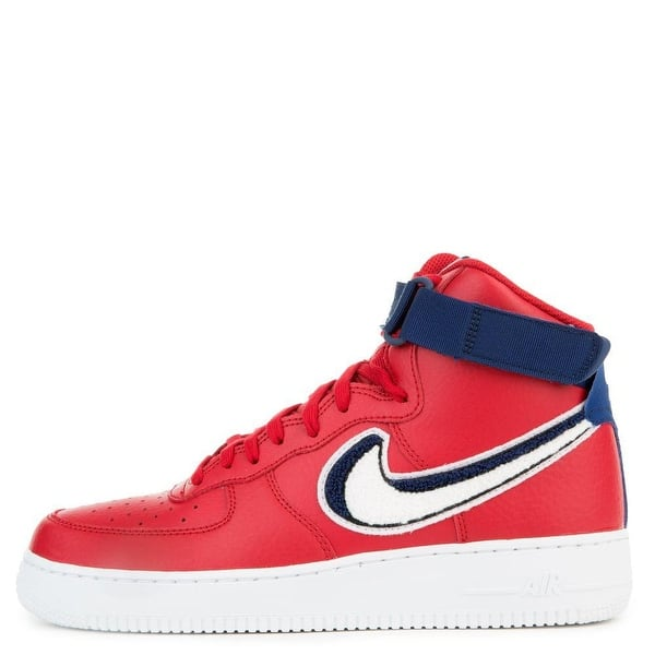 Shop Nike Air Force 1 High 07 Lv8 Mens Gym Red White Blue 806403