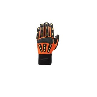 Seirus HWS Workman Gripper Glove Men Hi-Vis Orange - Large 8182.1.4184