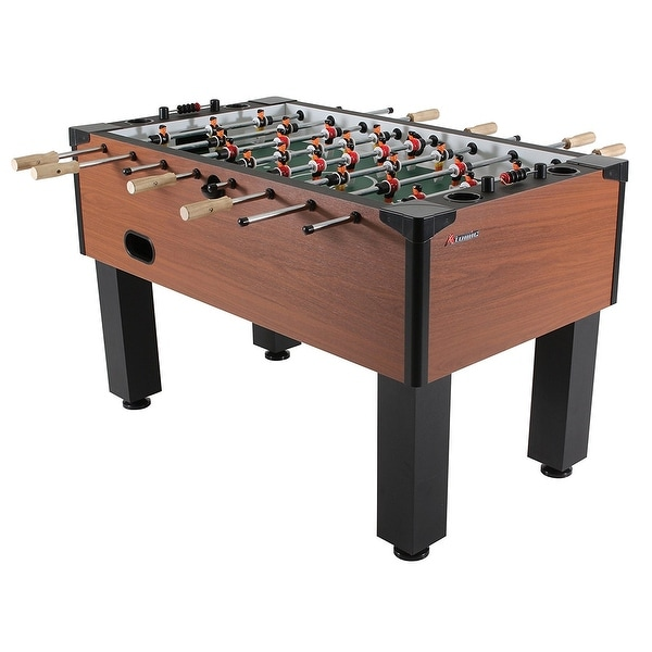 Atomic Gladiator Soccer Game Table / Foosball Table Model G01889W. Opens flyout.