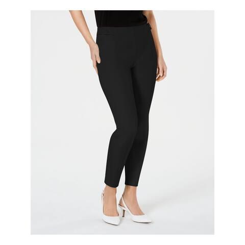 ALFANI Womens Black Wear To Work Pants Size 12