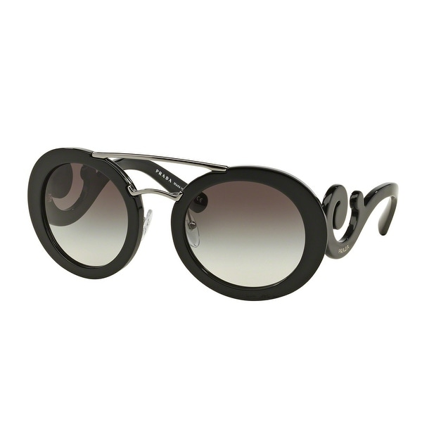 80383a3ef7a71 ... norway prada baroque evolution spr 13s 1ab 0a7 54mm black silver brown  round sunglasses 33adc 73607 ...