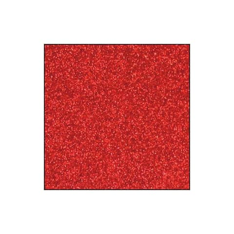 Gcs004 best creation paper 12x12 glitter red
