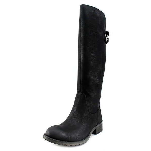 Very Volatile Mira Women Round Toe Synthetic Knee High Boot