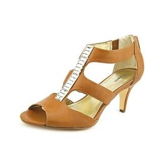 Style & Co Andoraa Open-Toe Synthetic Heels