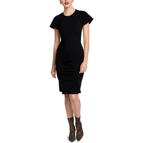 Rachel Rachel Roy Womens Amelie Wear to Work Dress Short Sleeves Professional