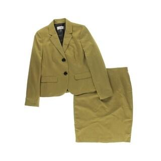 Le Suit Womens 2PC Pattern Skirt Suit