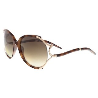Roberto Cavalli RC895/S 52F Hamal Tortoise Oval Sunglasses - 60-16-125