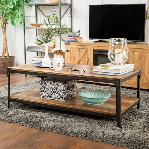 Carbon Loft Witten 48-inch Angle Iron Coffee Table
