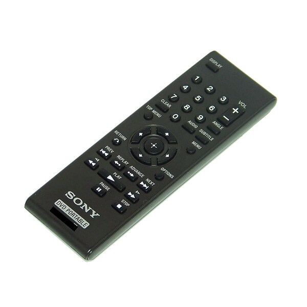 OEM Sony Remote Control Originally Shipped With: DVPFX750, DVP-FX750, DVPFX970, DVP-FX970, DVPFX96, DVP-FX96