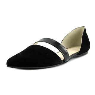 Calvin Klein Hammon Pointed Toe Suede Flats
