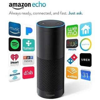 Amazon Echo (1st Generation) - Black - (Certified Refurbished)