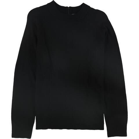 Karen Scott Womens Solid Pullover Sweater