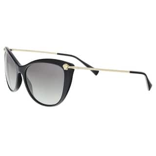 85ce2e21d5f5 Versace Men s VE2174 100187 59 Square Metal Plastic Gunmetal Grey Sunglasses.  Quick View