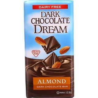 Taste the Dream - Dark Chocolate Almond Bars ( 12 - 3 OZ)