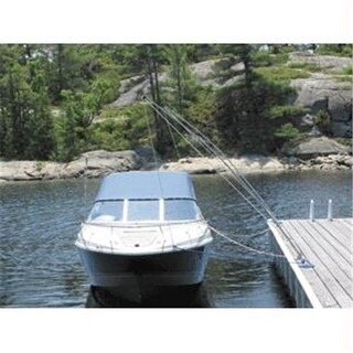 Dock Edge Premium Mooring Whip 2Pc 12Ft 5-000 Lbs Up To 23Ft