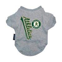 Oakland A's Pet T-Shirt - Small