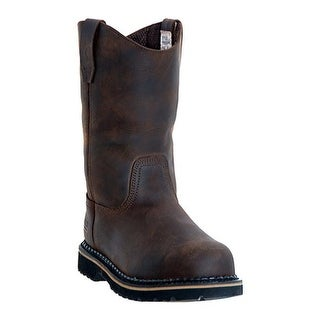 "McRae Industrial Men's 11"" Wellington MR85144 Dark Brown"