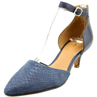 Clarks Artisan Sage Glamour Women Pointed Toe Leather Blue Heels
