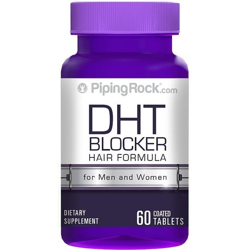 Piping Rock DHT Blocker for Men & Women, 60 Coated Tablets Dietary Supplement