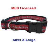 MLB St. Louis Cardinals Dog Collar - Extra large