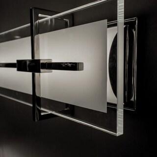 Modern Forms WS-46537 Seismic 1 Light LED ADA Compliant Bathroom Bath Bar - 37 Inches Wide