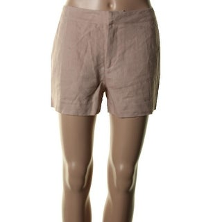 Joie Womens Leiden Linen Midi Dress Shorts - 8