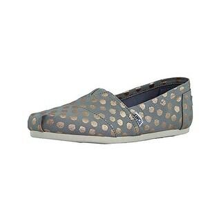 Toms Womens Classic Slip-On Shoes Polka Dots Fashion - 7.5 medium (b,m)