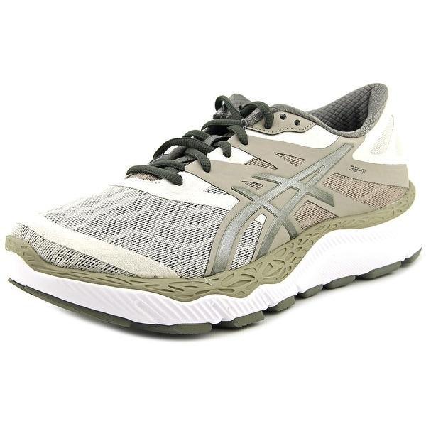 Asics 33-M Women Round Toe Synthetic Tan Running Shoe