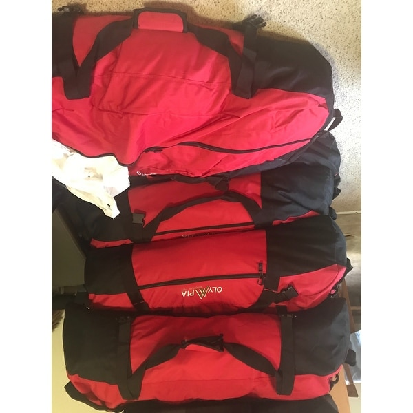 3a875a205c6c Shop Olympia Compactible 42-inch Foldable Sports Duffel Bag - Free Shipping  On Orders Over  45 - Overstock - 5549625