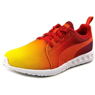 Puma Carson Runner Sunset Fade Round Toe Synthetic Sneakers