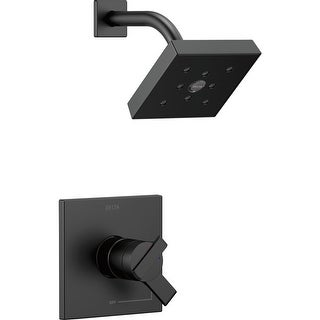 Delta T17267 Ara Monitor 17 Series Dual Function Pressure Balanced Shower Trim Package with H2Okinetic Shower Head - Less - n/a