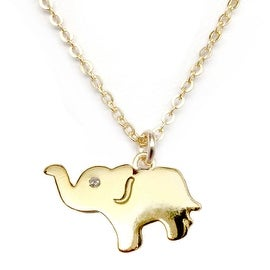 Julieta Jewelry Elephant Charm Necklace