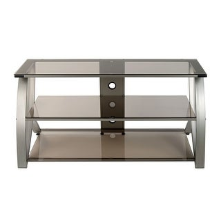 Offex Futura Advanced TV Stand Glass - Champagne/Bronze