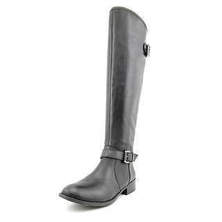 Jessica Simpson Rinne Round Toe Leather Knee High Boot