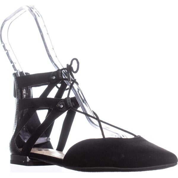 ddf388ab12fca7 Shop Circus by Sam Edelman Haven Lace Up Pointe Toe Flats