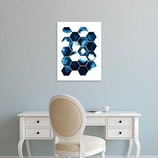 Easy Art Prints Grace Popp's 'Stormy Geometry I' Premium Canvas Art