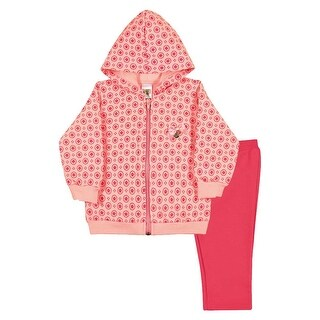 Baby Girl Outfit Hoodie Jacket and Leggings Set Infant Pulla Bulla 6-12 Months