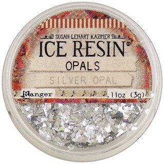 Ice Resin Opals-Silver