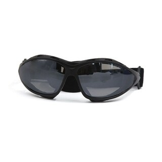 Unique Bargains Gray Lens Motorcycle Bike Riding Dust-proof Windproof Goggles Eyewear Glasses