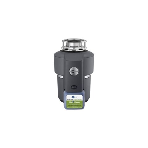 InSinkErator Septic Assist 3/4 HP Garbage Disposal with Bio-Charge Injection Septic Assist - Made in the USA - n/a - N/A