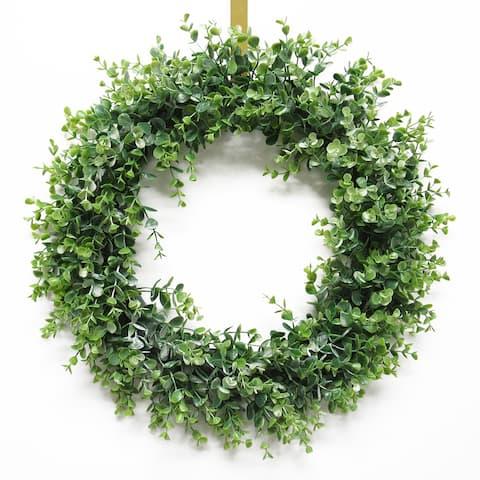Spiral Eucalyptus Wreath 22in