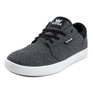 Supra Yorek Low   Round Toe Canvas  Sneakers