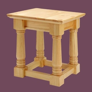 End Tables Country Pine Mission Table 23H